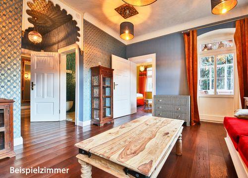 Villa Waldfrieden premium doubleroom (1/8) - Bio- & Nationalpark Refugium Schmilka