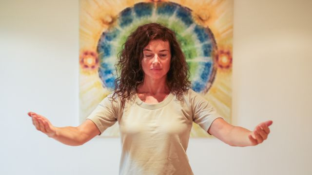 YOGA-Workshop mit Monika