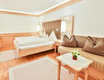 Single room stone pine without balcony - Biohotel Schweitzer