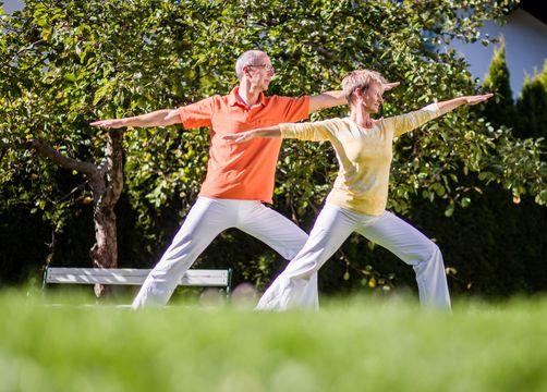 biohotel schweitzer mieming yoga - Biohotel Schweitzer