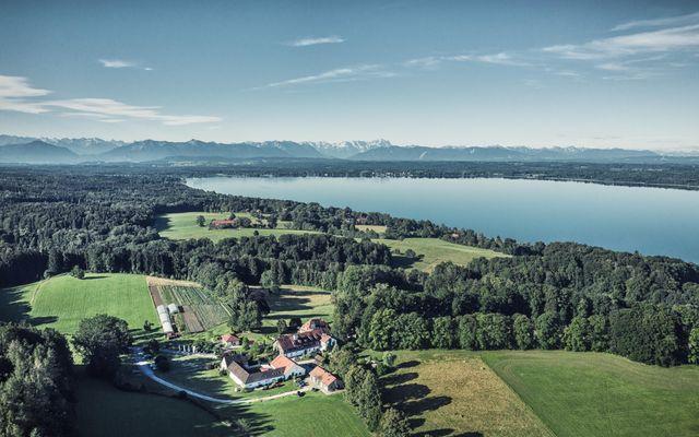 Biohotel & Schlossgut Oberambach: Drohne