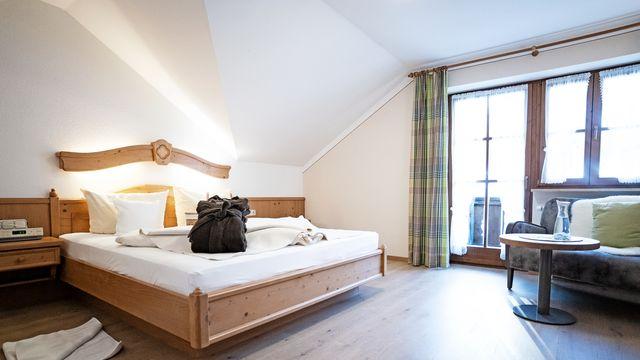 Komfort-Doppelzimmer Holunder Süd mit Balkon