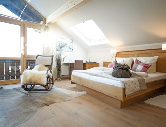 Panorama-Suite Wildrose - moor&mehr Bio-Kurhotel