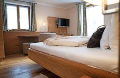 """Double room """"Minze"""" (two beds) (5/5) - moor&mehr Bio-Kurhotel"""