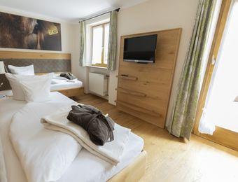 Twin room mint with south-facing terrace - moor&mehr Bio-Kurhotel