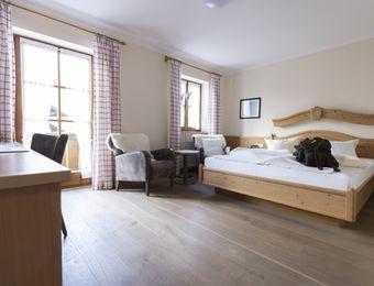 """Comfort Double Room """"Holunder"""" with Balcony - moor&mehr Bio-Kurhotel"""