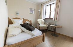 "Comfort Single Room ""Holunder"" with Balcony (3/4) - moor&mehr Bio-Kurhotel"