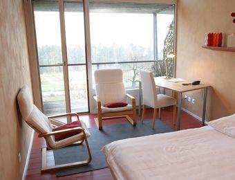 Pavillon Doppelzimmer  - L'Aubier, Eco-Hôtel