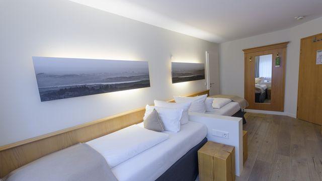 Landhaus Zweibettzimmer