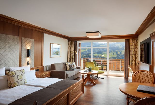 Bergkristall - Mein Resort im Allgäu in Oberstaufen-Willis: Comfort studio Paradies (Last Minute)