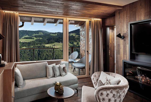Bergkristall - Mein Resort im Allgäu in Oberstaufen-Willis: Comfort suite Hochgrat (Last Minute)
