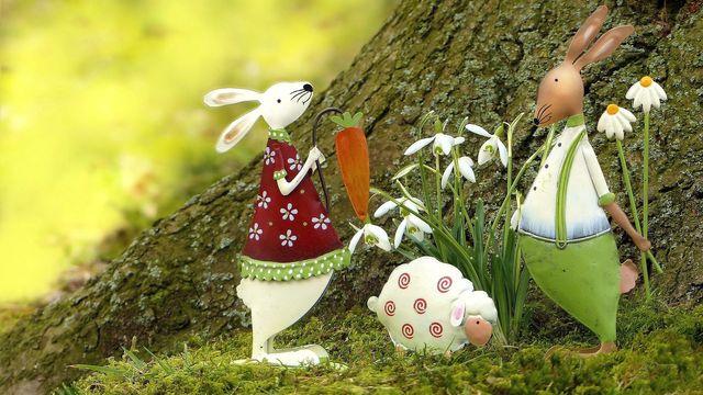 Gemütliches Osterfest