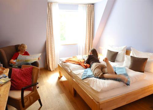 Camera doppia con letto matrimoniale (1/3) - Ginkgo Mare