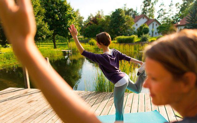 Biohotel Sturm: Yoga in der Rhön