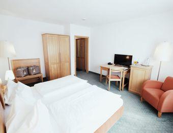 Doppelzimmer Komfort - Biohotel Sturm