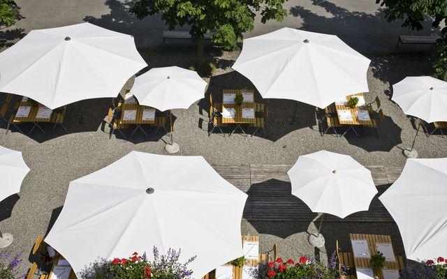 Biohotel Schwanen: Gastgarten
