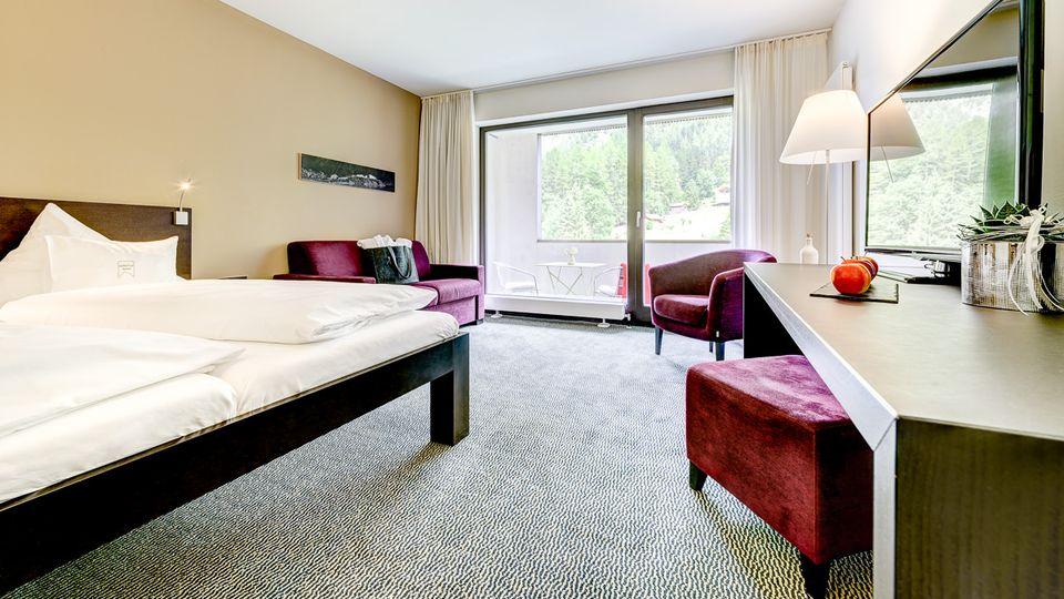 Komfort Doppelzimmer Alvier ca. 32m² + 7m² Balkon