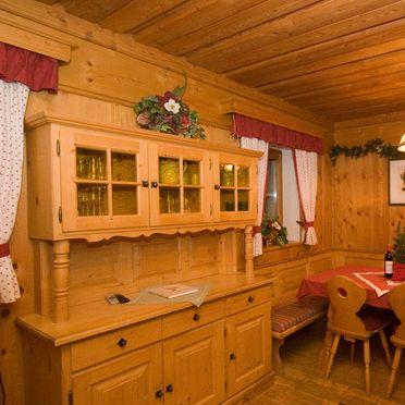 Dining table, Auhofalm, Jochberg, Tirol, Tyrol, Austria