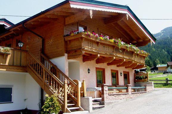 Frontansicht1, Hochlandhäusl in Kirchberg, Tirol, Tirol, Österreich