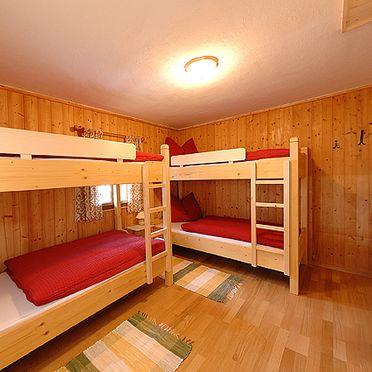 Doppelbett, Samerhaus in Großarl, Salzburg, Salzburg, Österreich