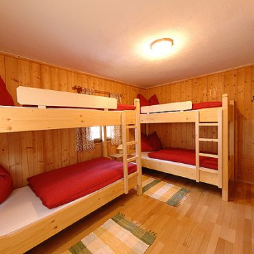 Doppelbett, Samerhaus, Großarl, Salzburg, Salzburg, Österreich