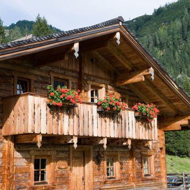 Untertiefenbachhütte, Sommer