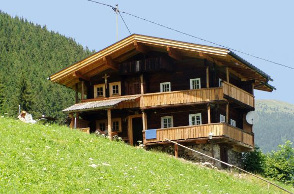 Ferienhütte Elisabeth, Frontansicht