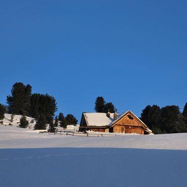 Winter, Costaces Hütte, Am Würzjoch, Südtirol, Trentino-Südtirol, Italien
