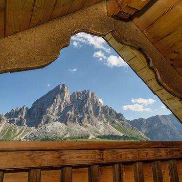 Costaces Hütte, Aussicht