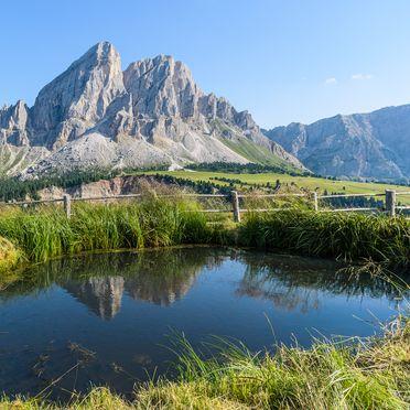 Aussicht, Costaces Hütte in Am Würzjoch, Südtirol, Trentino-Südtirol, Italien