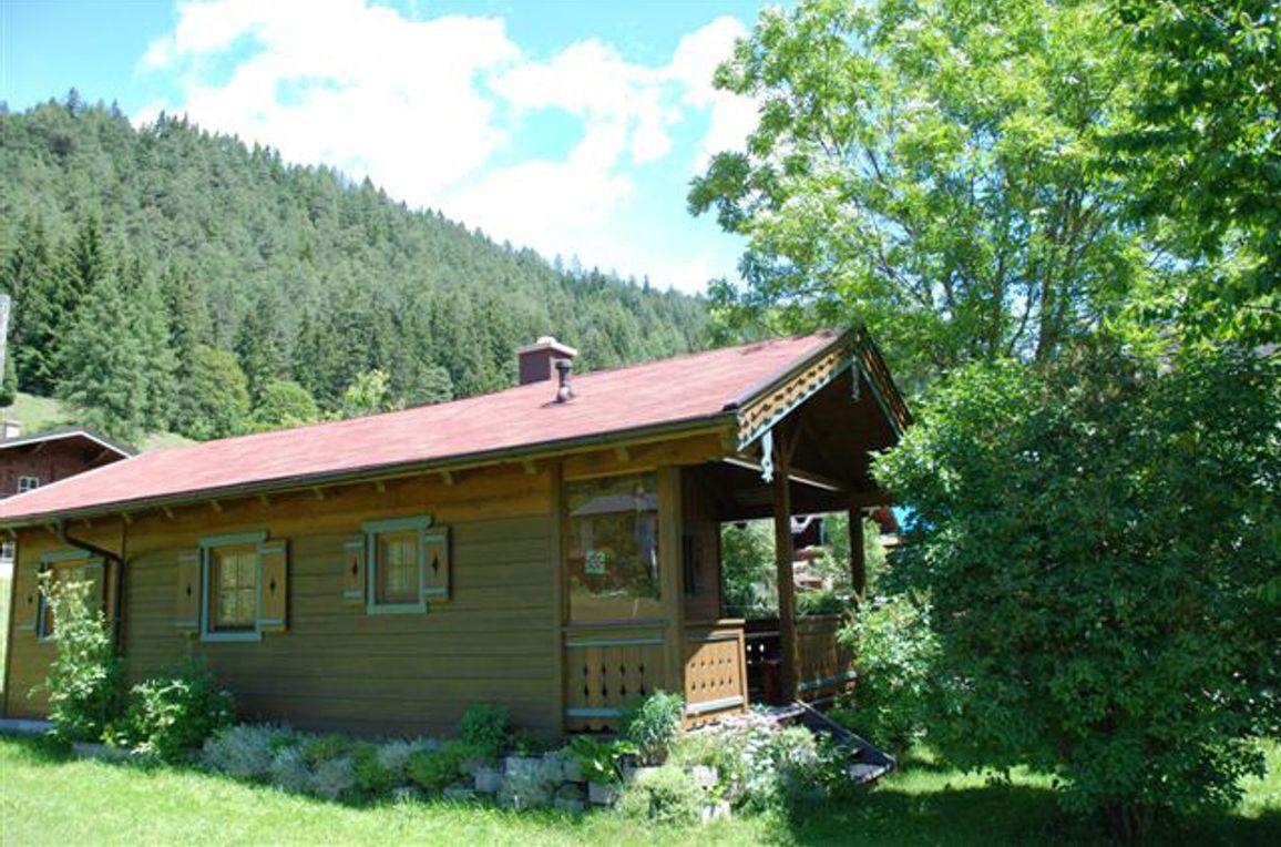 Zirbenhütte, Fromntansicht2