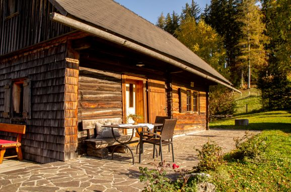 Herbst, Ferienhütte Windlegern, Neukirchen, Oberösterreich, Oberösterreich, Österreich
