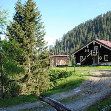 Firstwandhütte I, Rueckansicht1