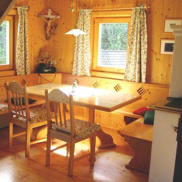 Teichschmied Hütte, Essbereich