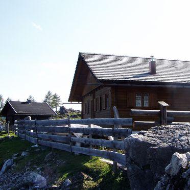 Fröschlhütte, Seitenansicht