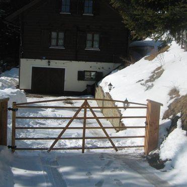 Almhaus Schloffer, Winter Einfahrt