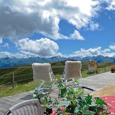 Terrasse, Latschenalm in Jochberg, Tirol, Tirol, Österreich