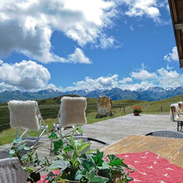 terrace, Latschenalm in Jochberg, Tirol, Tyrol, Austria