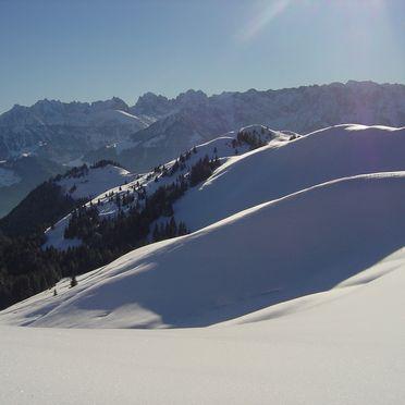 Aussicht, Lockner Hütte in Rettenschöß, Tirol, Tirol, Österreich