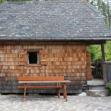 Terrasse, Kuschelhütte, Neukirchen, Oberösterreich, Oberösterreich, Österreich