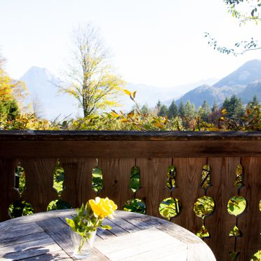 Terrace, Kuschelhütte in Neukirchen, Oberösterreich, Upper Austria, Austria