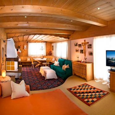 Ski & Bergchalet Penkenjoch, Wohnzimmer