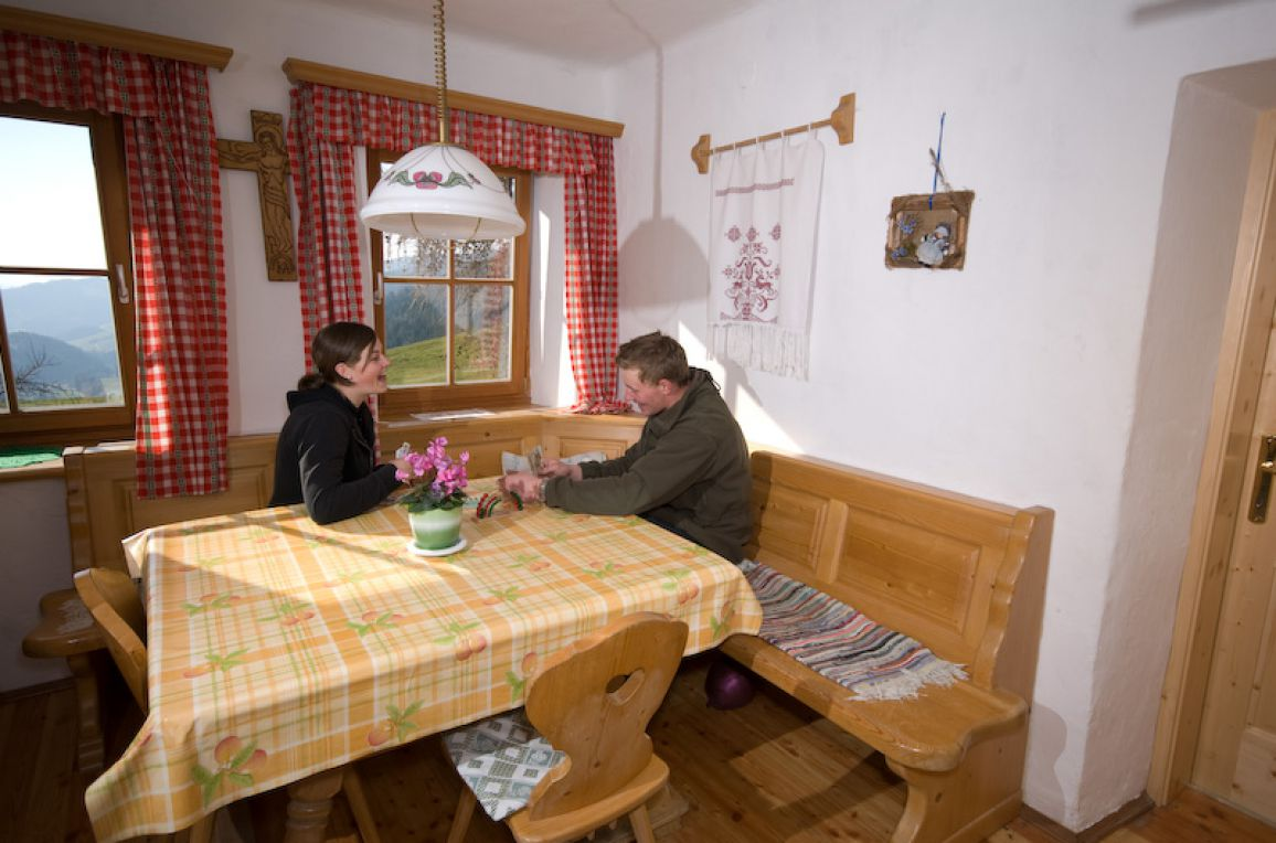Leyreralm, Dining table