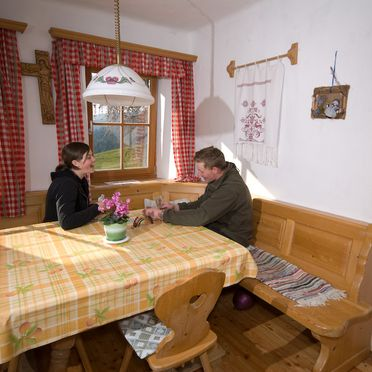 Dining table, Leyreralm in Obdach, Steiermark, Styria , Austria