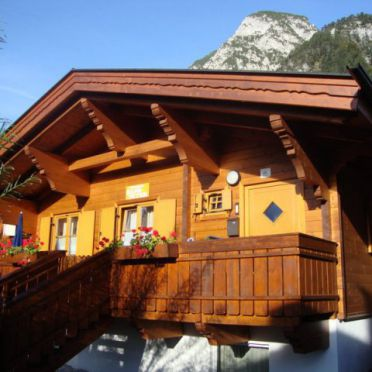Frontansicht1, Alpen-Chalets Achensee, Maurach am Achensee, Tirol, Tirol, Österreich