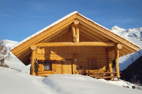 Winter, Almrosenhütte, Mörtschach, Kärnten, Kärnten, Österreich