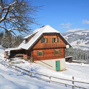 Winter, Kotmarhütte, Bad St. Leonhard, Kärnten, Kärnten, Österreich