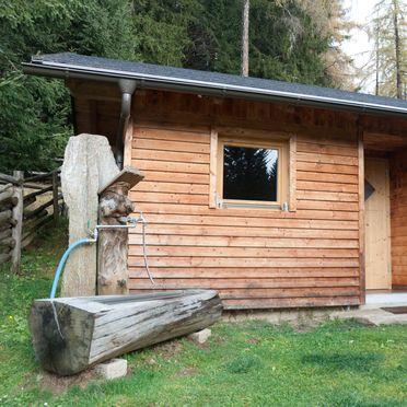 Sauna hut, Reinhoferhütte in St. Gertraud, Kärnten, Carinthia , Austria