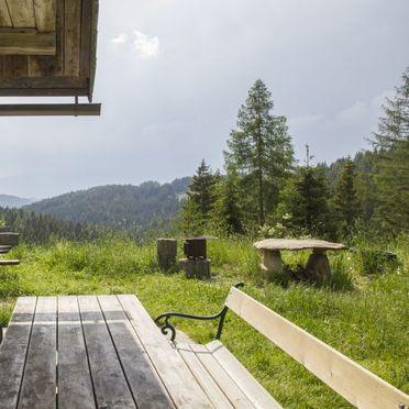Jagerhütte, Terrasse