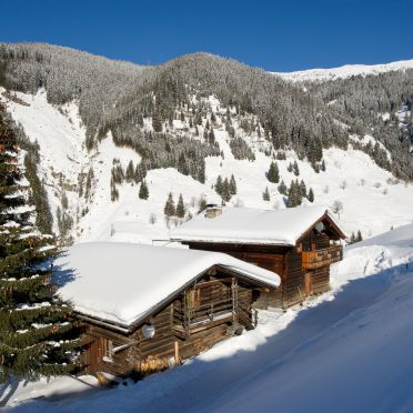 Radlehenhütte, Winter